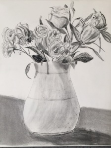 Jug of flowers
